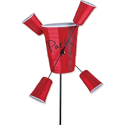 Party Cups Whirligig Wind Spinner Small