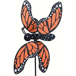 Monarch Butterfly Whirligig Wind Spinner Small