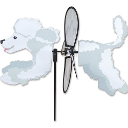 Petite Poodle Wind Spinner