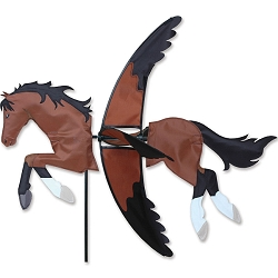 Flying Bay Horse Wind Spinner Large