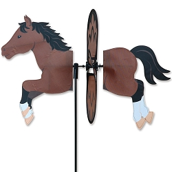 Petite Bay Horse Wind Spinner