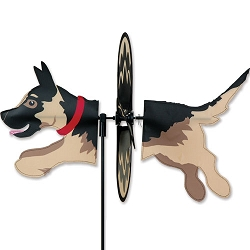 Petite German Shepherd Wind Spinner