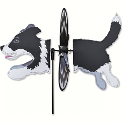 Petite Border Collie Wind Spinner