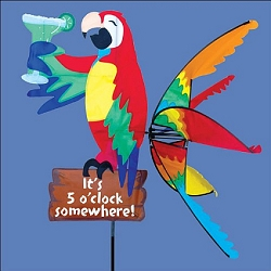 Flying Island Parrot Wind Spinner Large