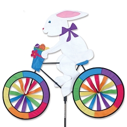 Bunny Bicycle Wind Spinner Large
