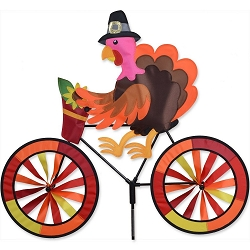 Turkey Bicycle Wind Spinner Large