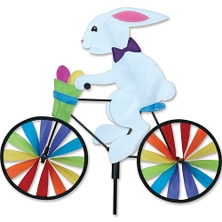 Bunny Bicycle Wind Spinner Medium