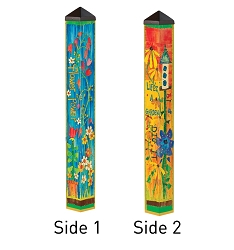 3 ft. Art Pole 4x4 Flower Power