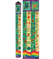 6 ft. Art Pole 5x5 Let It Be
