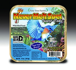 Never Melt Suet Insect Cake 13 oz 6/Pack