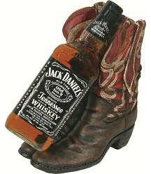 Cowboy Boots Wine Bottle Holder