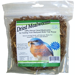 Songbird Dried Mealworms 100gram 6/Pack