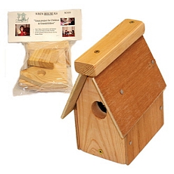 Economical Wren House Kit Twin Pack