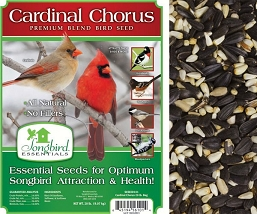Songbird Essentials Cardinal Chorus Bird Seed 20#