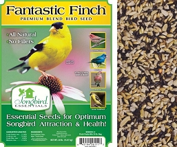 Songbird Essentials Fantastic Finch Bird Seed 20#