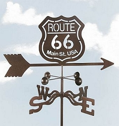 Route 66 Weathervane