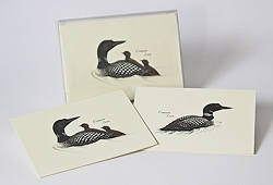 Loon Boxed Notecard Assortment Set of 8