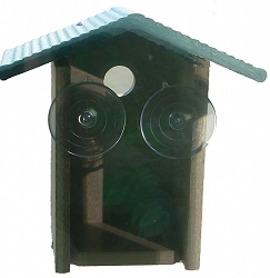 Recycled Plastic Window Mount Wren House