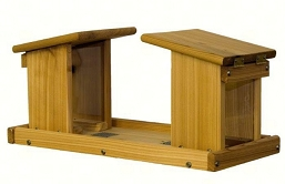 Select Cedar Window Coaxing Feeder