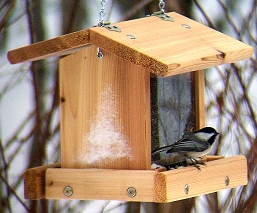 Select Cedar Mini Mixed Seed Feeder