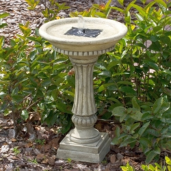 Ashbourne Solar-Powered Birdbath