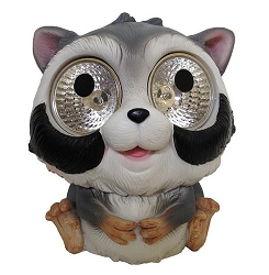 Garden Pals Solar Raccoon Accent Light Set of 2