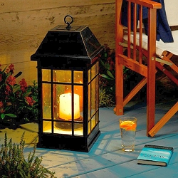 San Rafael Estate Solar Mission Lantern