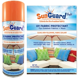 SunGuard Fabric UV Protectant Spray Set of 2