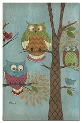 Fantasy Owls EcoNotes Set of 12