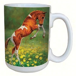 Dances with Daisies 15 oz. Lovely Mug