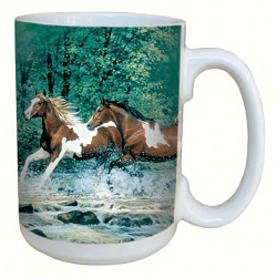 Spring Creek Run 15 oz. Lovely Mug