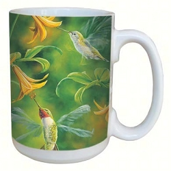Ruby Wings 15 oz. Lovely Mug