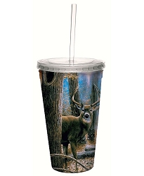 Woodland Sentry Buck 16 oz. Cool Cup Tumbler