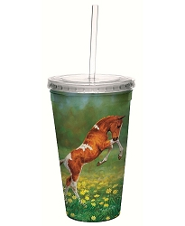 Dances with Daisies 16 oz. Cool Cup Tumbler