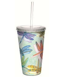 Dragonflies 16 oz. Cool Cup Tumbler