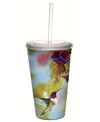 Ruby and Fuchsia 16 oz. Cool Cup Tumbler