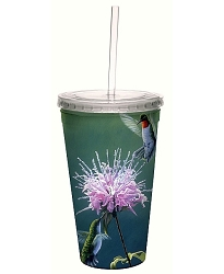 Hummingbird Treat 16 oz. Cool Cup Tumbler