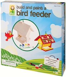 Deluxe Build and Paint Bird Feeder Kit