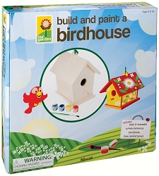 Deluxe Build and Paint Bird House Kit
