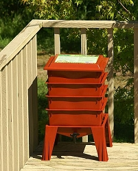 Worm Factory® 360 Composting System Terracotta