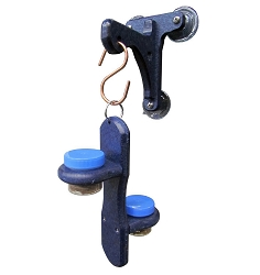 Double Bug Dots Feeder w/Blue Window Hanger Kit