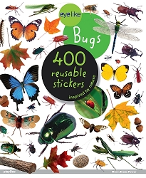 Eyelike Bugs 400 Reusable Stickers