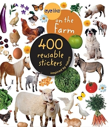 Eyelike On The Farm 400 Reusable Stickers