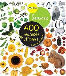 Eyelike Seasons 400 Reusable Stickers