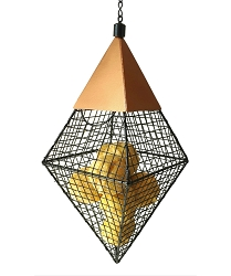 Geo Diamond Suet Ball Feeder