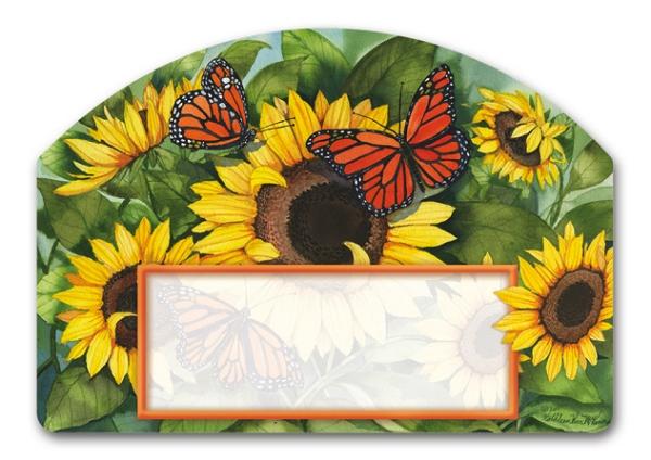 Sunny Monarchy Yard DeSigns Magnetic Yard Art
