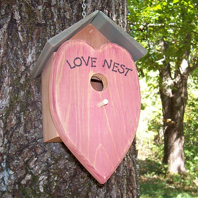 Love Nest Bird House