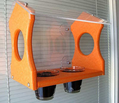 Recycled Poly Oriole Window Feeder