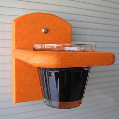 Recycled Poly Oriole Jelly Window Feeder