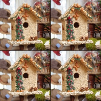 Juniper Bed and Breakfast Edible Birdhouse 4/Pack